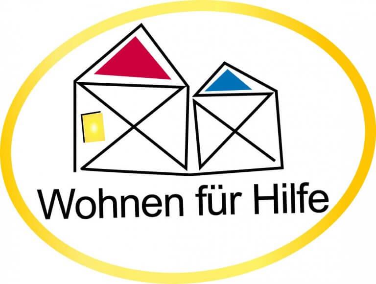 Logo des Projektes Wohnen für Hilfe
