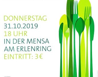 save the date: Willkommensdinner am 31. Oktober!