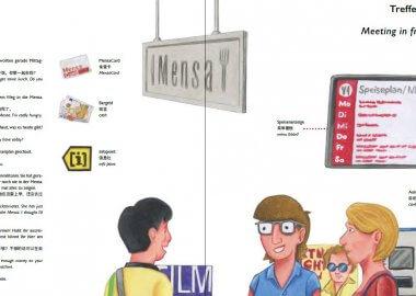 Illustrierte Wörterbücher für den studentischen Alltag
