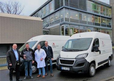 Das Studentenwerk Marburg investiert in umweltfreundliche Fahrzeuge