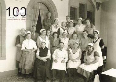 Wir feiern 100 Jahre Studentenwerk Marburg!