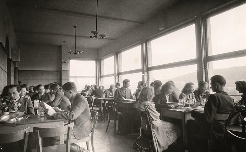 Alte Mensa in den 40er Jahren